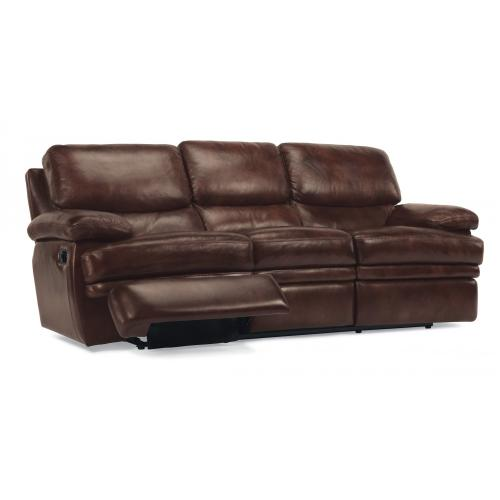 Product Image - Dylan Leather Reclining Sofa without Chaise Footrests