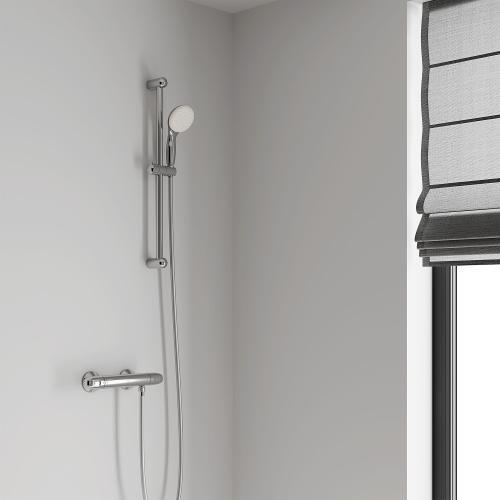 "Grohe - Tempesta 24"" Shower Slide Bar Kit - 2 Sprays, 1.5 Gpm"