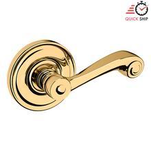 See Details - Lifetime Polished Brass 5103 Estate Lever with 5048 Rose