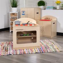 Product Image - Children's Wooden Kitchen Stove for Commercial or Home Use - Safe, Kid Friendly Design
