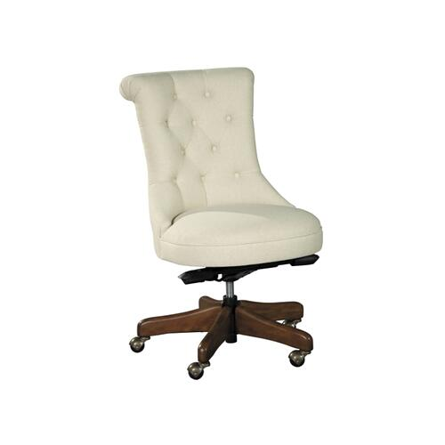 office@home Scroll Back Armless Desk Chair