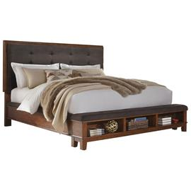 Ralene King Upholstered Panel Bed