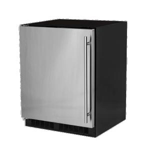 Marvel24-In Low Profile Built-In Refrigerator With Maxstore Bin And Door Storage with Door Style - Stainless Steel, Door Swing - Left
