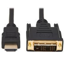 Safe-IT HDMI-to-DVI Antibacterial Cable (M/M), DVI-D Single Link, 1920 x 1200 @ 60 Hz, Black, 6 ft. (1.83 m)