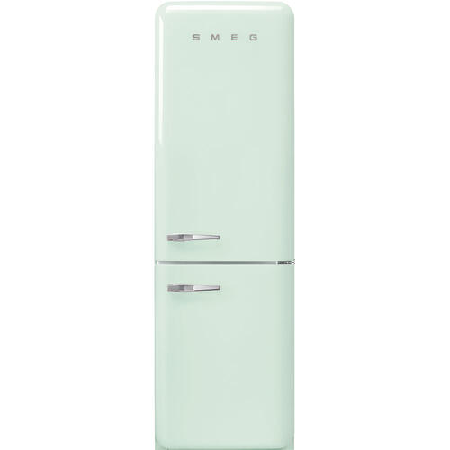 "'50s Style No Frost' Fridge-Freezer, Pastel Green, Right Hand Hinge, 60 cm (Approx 24"")"