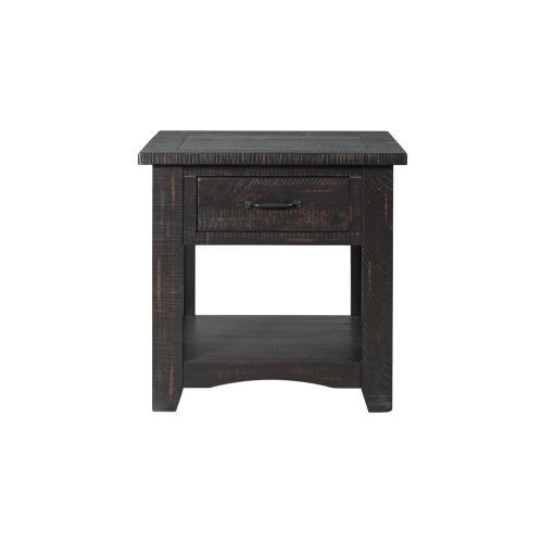 END TABLE - Antique Black