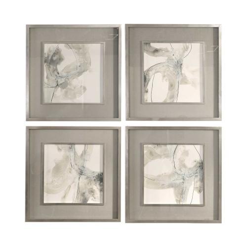 Divination Framed Prints, S/4