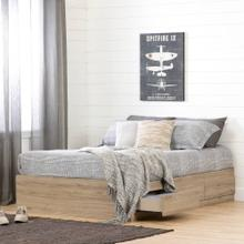 Mates Bed with 3 Storage Drawers - 54''