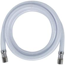 """PVC Ice Maker Connector with 1/4"""" Compression, 5ft"""