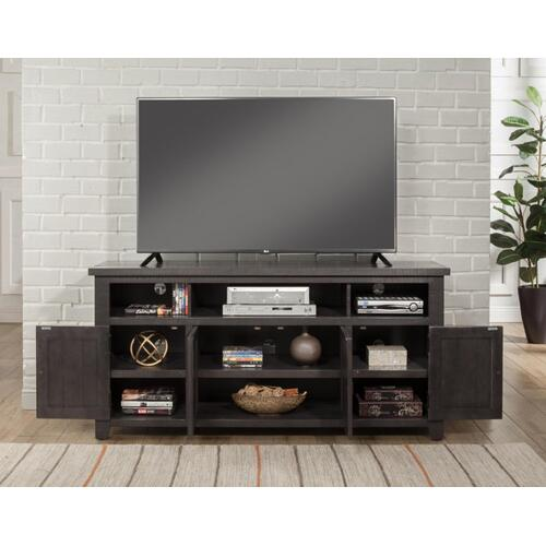 WEST MILL GREY ENT CONSOLE - Grey