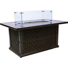 Moraya Bay Rectangular Gas Fire Pit