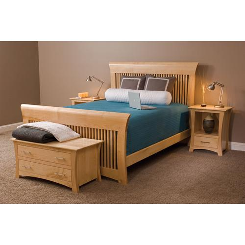 Loft Slat Bed, Queen