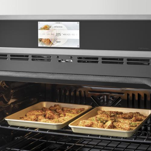 """Café ™ 27"""" Built-In Single Electric Convection Wall Oven Stainless Steel"""