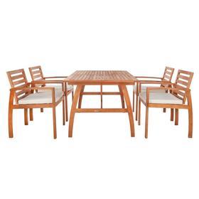 Venly Dining Set - Natural / Beige