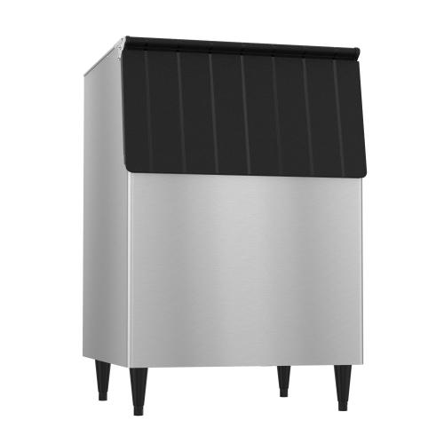 """B-500SF, 30"""" W Ice Storage Bin with 500 lbs Capacity - Stainless Steel Exterior"""