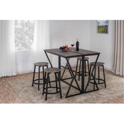 5311 2-Pack Round Backless Stools