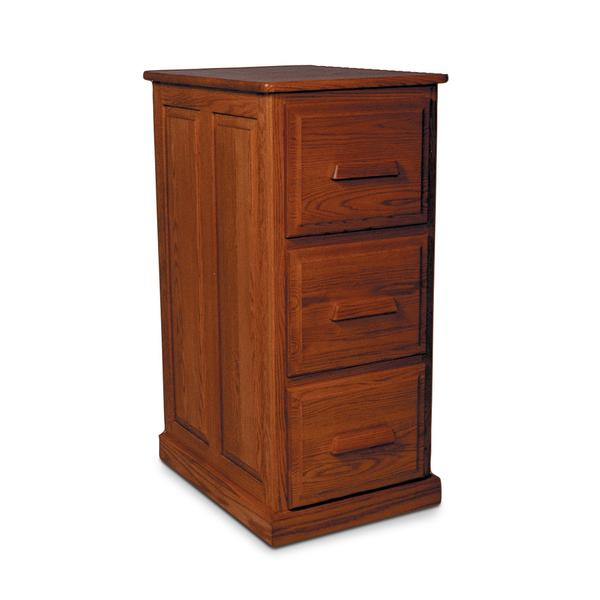 Classic File Cabinet, 3-Drawer, Plain End