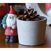 Santa w/ Planter - Set of 1