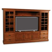 Classic Wall Unit Entertainment Center