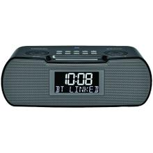Digital AM/FM-RDS/Bluetooth® Clock Radio with USB Charger
