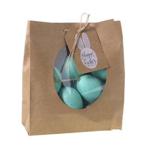 """1""""x 1.75"""" - Pack of 12 Robin Eggs (Egg Option)"""