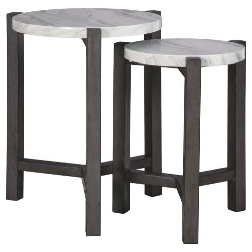 Crossport Accent Table (set of 2)