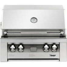View Product - 30-In. Built-In Natural Gas Grill in Stainless