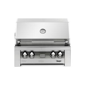 Vintage - 30-In. Built-In Natural Gas Grill in Stainless