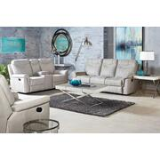 Boardwalk Manual Motion Reclining Sofa, Stone Product Image