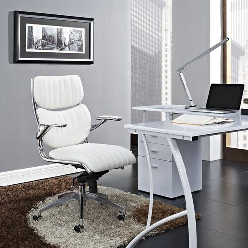 Escape Mid Back Office Chair in White