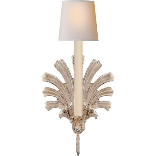 Visual Comfort CHD1125OW E. F. Chapman Marlborough 1 Light 8 inch Old White Decorative Wall Light