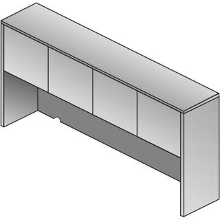 """See Details - Overhead Storage 2/ctns 71""""x15""""x36"""""""