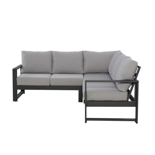 Modern Metal Loveseat/Corner Chair Frames