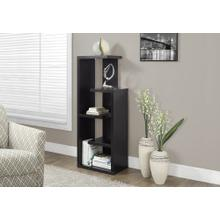 "BOOKCASE - 48""H / ESPRESSO ACCENT DISPLAY UNIT"