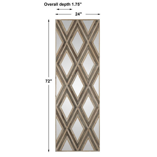 Uttermost - Tahira Wood Wall Decor, Rectangle