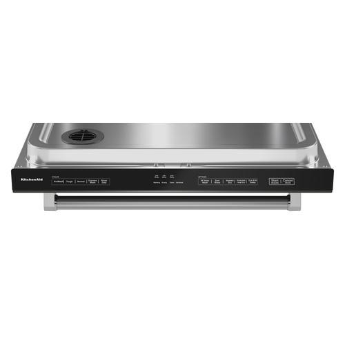 Product Image - 39 dBA Dishwasher in PrintShield™ Finish with Third Level Utensil Rack - Black Stainless Steel with PrintShield™ Finish
