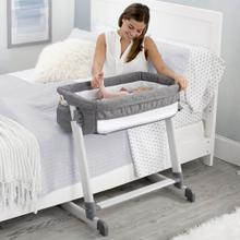 Simmons Kids® By the Bed City Sleeper Bassinet - Grey Tweed (2012)