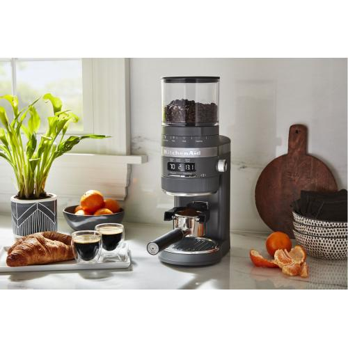 Burr Coffee Grinder - Matte Charcoal Grey