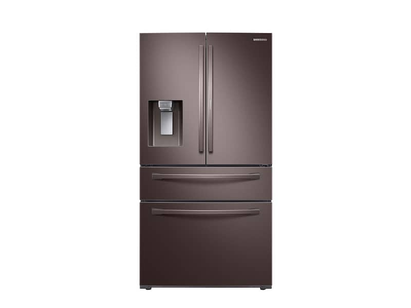 Samsung28 Cu. Ft. Food Showcase 4-Door French Door Refrigerator In Tuscan Stainless Steel