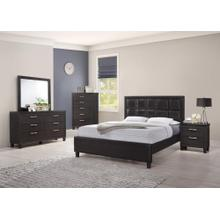 4PC QUEEN BEDROOM SET(Q/D/M/C)