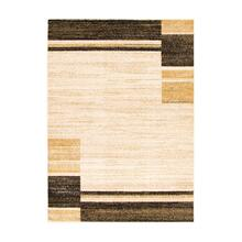 Holland - Contemporary Squares Area Rug, Beige and Yellow, 8' x 10'