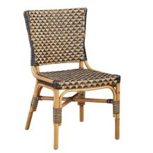 See Details - Black and Tan Dining Chair