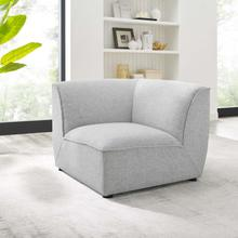 Comprise Corner Sectional Sofa Chair in Light Gray