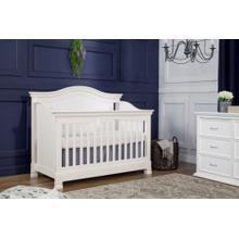 Warm White Louis 4-in-1 Convertible Crib