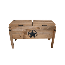 Product Image - Double Cooler-star W/barbed Wire-black