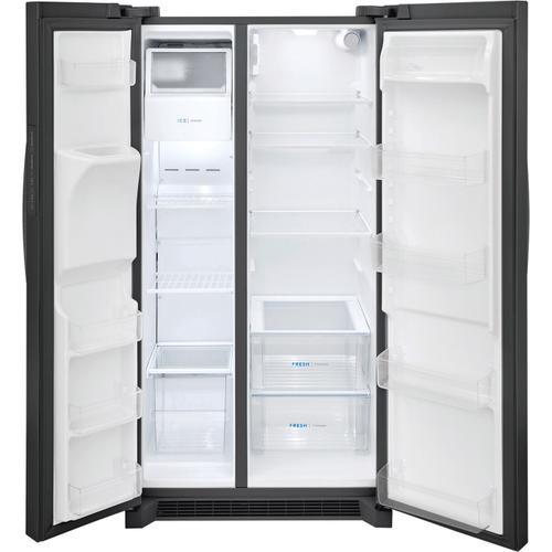 Frigidaire - Frigidaire 25.6 Cu. Ft. 36'' Standard Depth Side by Side Refrigerator