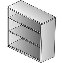 "See Details - Kenwood 3-shelf Bookcase/hutch, 42"" High"