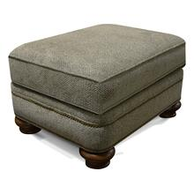 Reed Ottoman with Nails