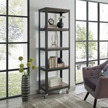 See Details - Vivify Bookcase in Gray Walnut