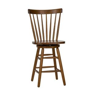 24 Inch Swivel Counter Chair - Tobacco